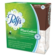 Puffs® Plus Lotion Facial Tissue, 1-Ply, 56 Sheets, 4/Pack (34899)