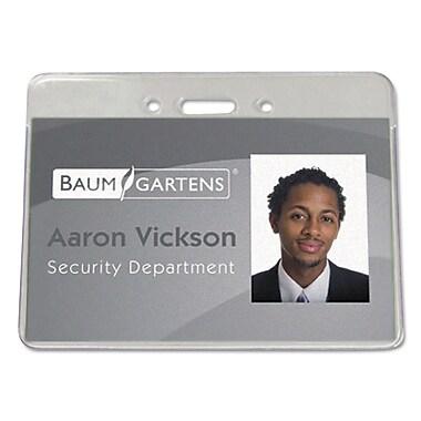 Baumgartens Sicurix™ Proximity Badge Holder, Clear, 4