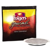 Folgers® Gourmet Selections™ Coffee Pods, 100% Colombian Regular, 0.35 oz, 108/Carton (63100 CASE)