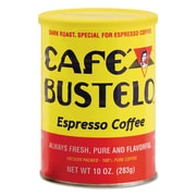 Cafe Bustelo Coffee, Espresso, 10 oz, 24/Carton (00050 CASE)