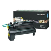 Lexmark™ X792X4YG (X792) Extra High-Yield Toner, 20000 Page-Yield, Yellow