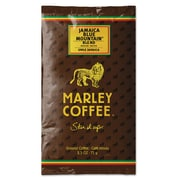 Marley Coffee® Fractional Packs, Jamaica Blue Mountain® Blend, 2.5 oz, 18/Box (495-500-0-1810)