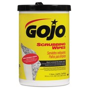 GOJO® Scrubbing Towels, 2-Ply, Hand/Body Wet Wipe, White/Red, 72/Roll, 6/Carton (GOJ 6396-06)