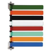 Medline Room ID Flag System, Assorted Primary Colors, Each (OMD291718)