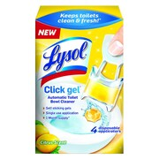LYSOL® Brand Click Gel™ Automatic Toilet Bowl Cleaner, Citrus, 0.16 oz, Each (92920)
