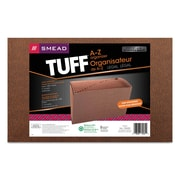 Smead® TUFF® Expanding Files, Redrope Printed, Legal, Each (70430)
