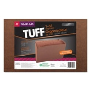 Smead® TUFF® Expanding Files, Redrope Printed, Legal, Each (70469)