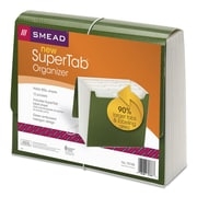 Smead® SuperTab® Expanding File, Green, Letter, EA (70768)