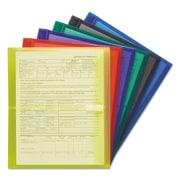 Smead® Poly Side-Load Envelopes, Assorted, Letter, 6/Pack (89669)