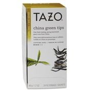 Tazo® Tea Bags, China Green Tips, 1.7 oz Bag, 24/Box (153961)
