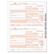 TOPS™ IRS Approved 1099 Tax Form, 75/Pack (22983)