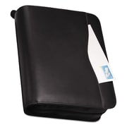 Day-Timer® Verona Leather Starter Set, Zipper Closure, 8 1/2 x 11, Smooth Leather, Black (D83151E)