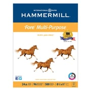 Hammermill® Fore® MP Multipurpose Paper, 8 1/2 x 11, White, 5000/Carton (10328-3)