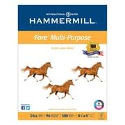 Hammermill® Fore® MP Multipurpose Paper, 8 1/2 x 11, White, 5000/Carton (10328-3)