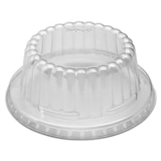 Solo® Cup Company Flat-Top Dome PET Plastic Lids, Clear, 1000/carton (DF8-0090)
