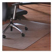 Floortex® Cleartex MegaMat Heavy-Duty Polycarbonate Mat for Hard Floor/All Carpet, 46 x 60 (M121525ER)