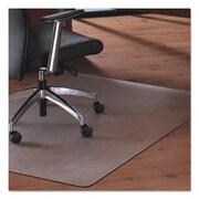 Floortex® Cleartex® MegaMat™ Heavy-Duty Polycarbonate Mats for Hard Floors & All Pile Carpets, 46 x 53 (M121345ER)