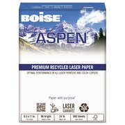 Boise ASPEN Premium Laser Paper, 8 1/2 x 11, White, 500 Per Ream (BPL 2411 RC) by
