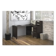 Bush® Enterprise Collection Corner Desk, Melamine, Mocha Cherry (2999MCA2-03)