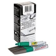 Crayola® Dry Erase Marker, Chisel, Green, 1/Dozen (989626044)