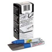 Crayola® Dry Erase Marker, Chisel, Blue, 1/Dozen (989626042)
