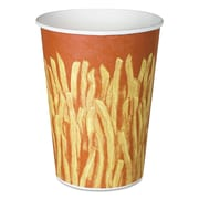 "SOLO® Cup Company Paper French Fry Cups, 4 3/5""-Diameter, 32 oz, 500/Carton (GRS32-00021)"