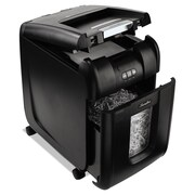 Swingline® Stack-and-Shred™ 200X Super Cross-Cut Auto Feed Shredder, 200 Sheet Capacity, Black (1757573-US)