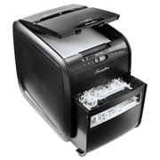 Swingline® Stack-and-Shred™ 80X Cross-Cut Auto Feed Shredder, 80 Sheet Capacity, Black (1757574)
