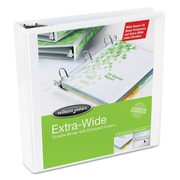 Wilson Jones® Oversized D-Ring View Binder, 8 1/2 x 11, View, Each (W80280)