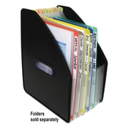 "C-Line®, Vertical Expanding File, 13-Pocket, 10"" Expansion, Letter, Poly, Black, Each (58810)"