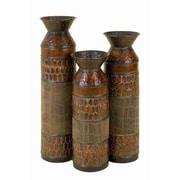 Cole & Grey Toscana 3 Piece Tabletop Vase Set