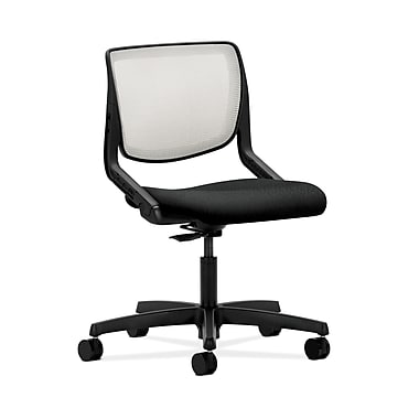 HON® Motivate Task Chairs, Fog ilira®-stretch Back, Tectonic Fabric