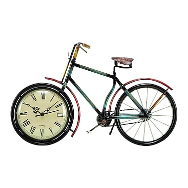 Cole & Grey Urban Trends Cycle Table Clock