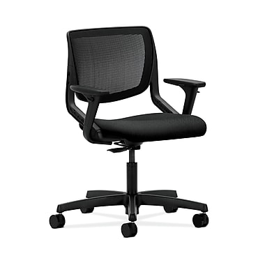 HON® Motivate Task Chairs, ilira®-stretch Back, Adjustable Arms, Tectonic Fabric
