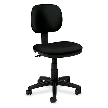 basyx by HON HVL610 Light Duty Task Chairs, Back Depth, Fabric