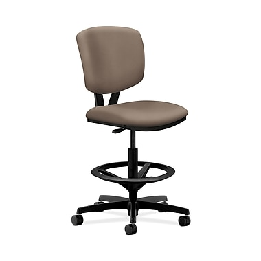 HON® Volt Task Stools, Extended Height, Footring, Antelope Fabric