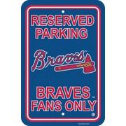 Fremont Die MLB Graphic Art; Atlanta Braves