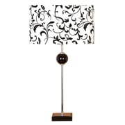 Cole & Grey Loft 27'' H Table Lamp with Oval Shade