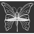 Hi-Line Gift Ltd. Metal Garden Butterfly Chair