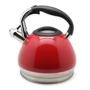 Creative Home Triumph 3.5-qt Tea Kettle; Red