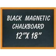 NeoPlex Wall Mounted Magnetic Chalkboard; 1' H x 1.5' W