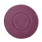 Creative Home Cast Iron Round Trivet; Purple