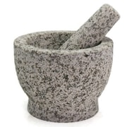 Creative Home Granite Mortar and Pestle; 4.75'' H x 7.88'' W x 7.88'' D