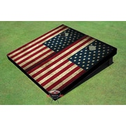 All American Tailgate American Flag Cornhole Board (Set of 2)