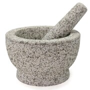 Creative Home Granite Mortar and Pestle; 4'' H x 5.5'' W x 5.5'' D