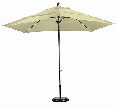 California Umbrella 11' Market Umbrella; Sunbrella A Antique Beige WYF078277683520