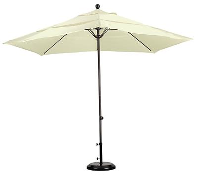 California Umbrella 11' Market Umbrella; Sunbrella-Natural WYF078277683525