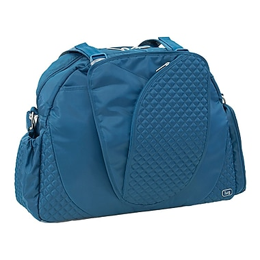 Lug Cartwheel Overnight/Gym Bag, Ocean Blue
