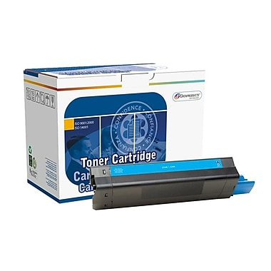 DATAPRODUCTS® Reman Cyan Toner Cartridge, OKI C5100, High Yield (DPC5100C)