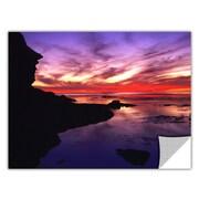 """ArtWall """"Sunset Cliffs Twilight"""" Art Appeelz Removable Wall Art Graphic 18"""" x 24"""" (0uhl016a1824p)"""